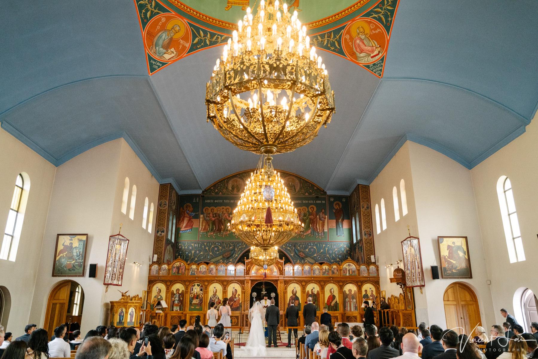 Wedding at St Nicholas Greek Orthodox Church Wedding