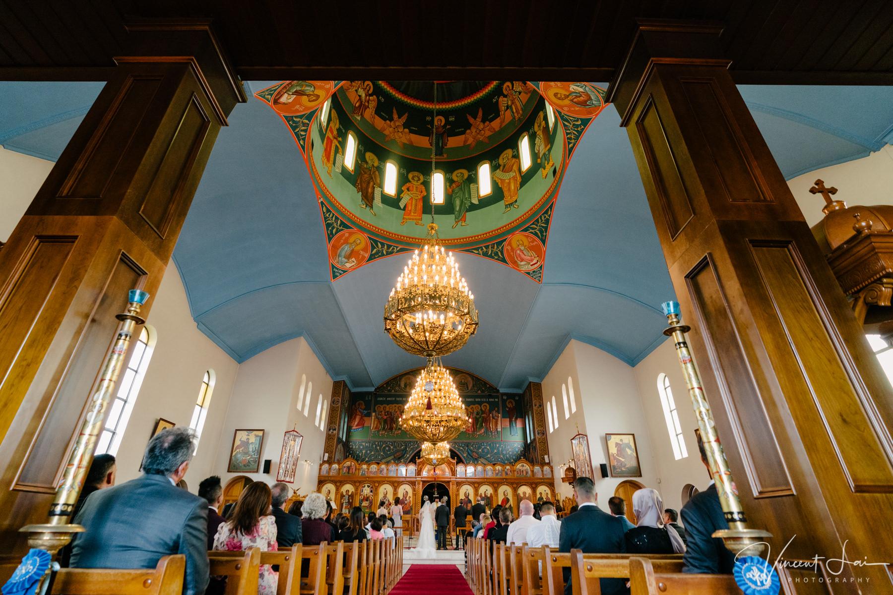 St Nicholas Greek Orthodox Church Wedding Photographer Vincent Lai