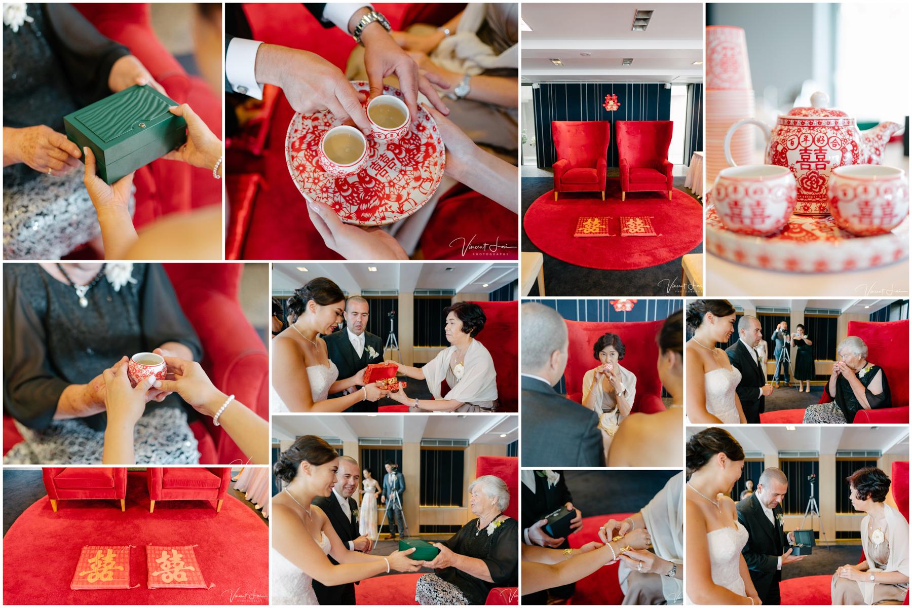 Sergeants Mess Wedding Chinese Tea Ceremony