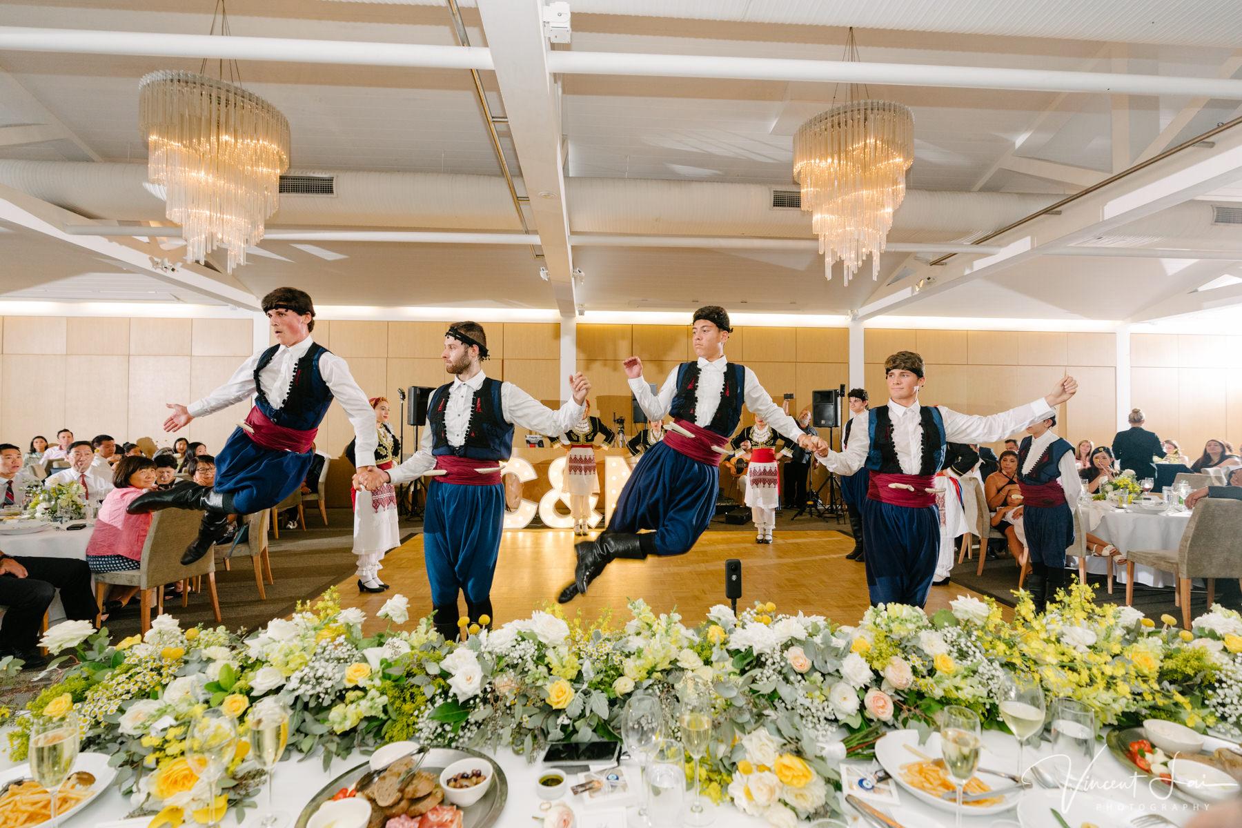 Wedding Greek Dancing Performance