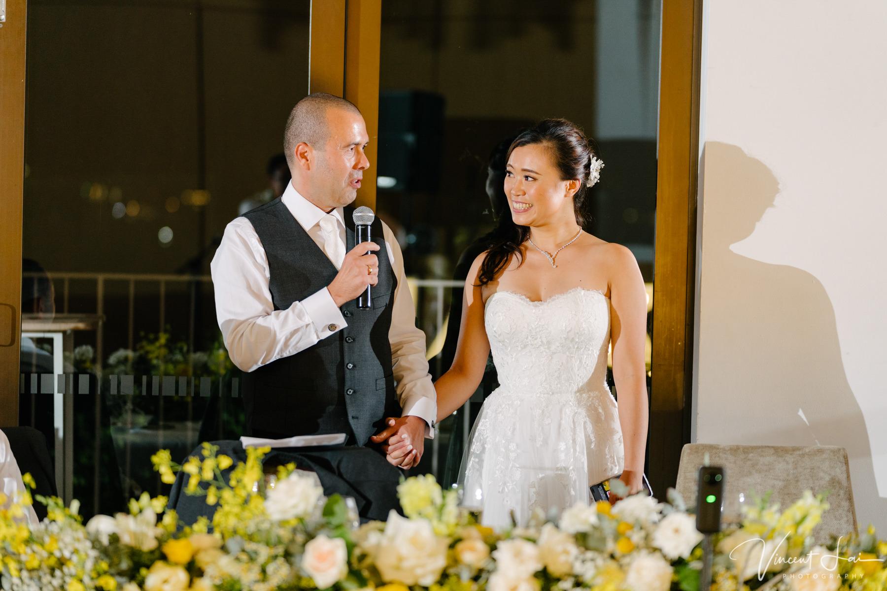 Wedding at Sergeants Mess