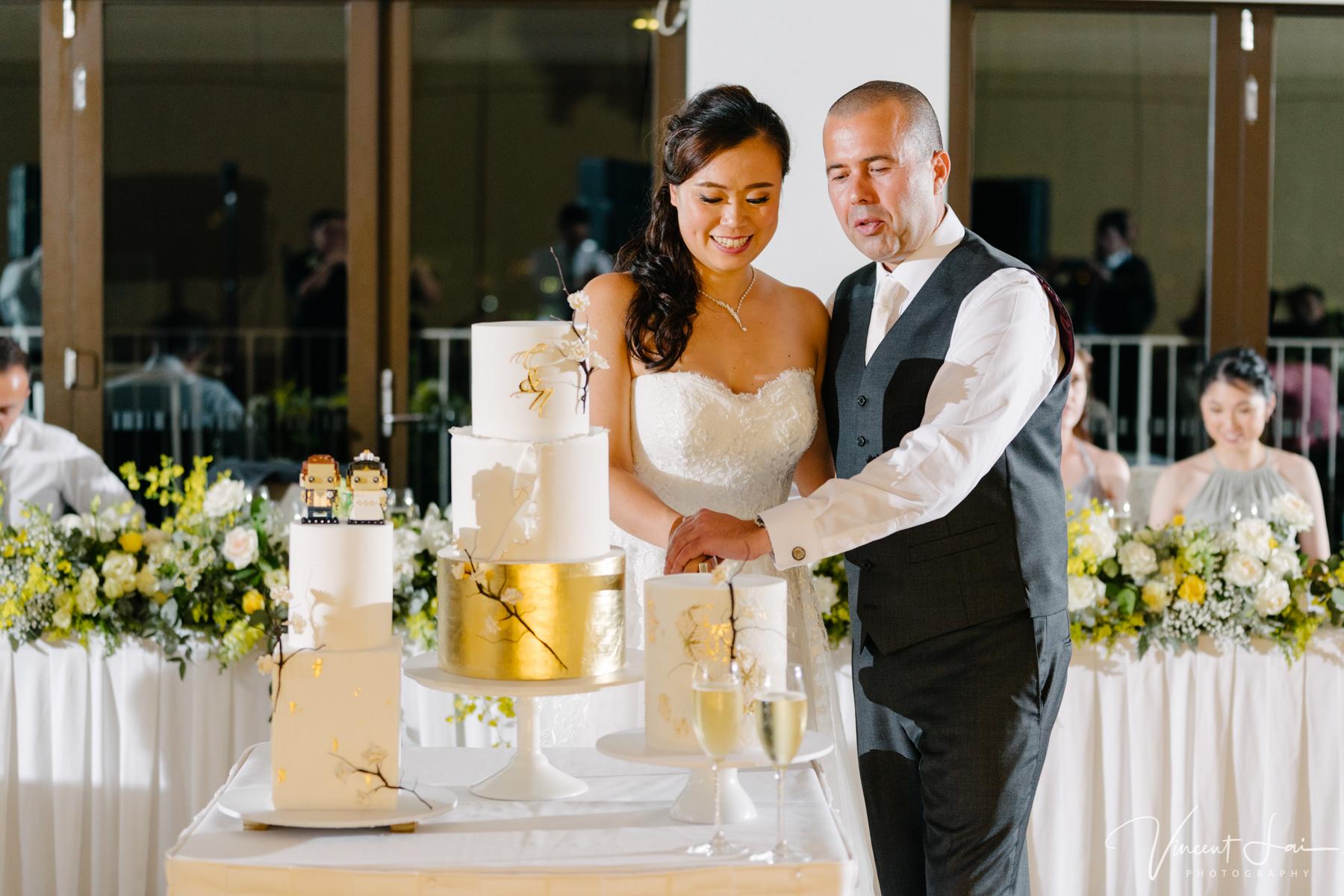 Sergeants Mess Wedding Reception Photographer Vincent Lai