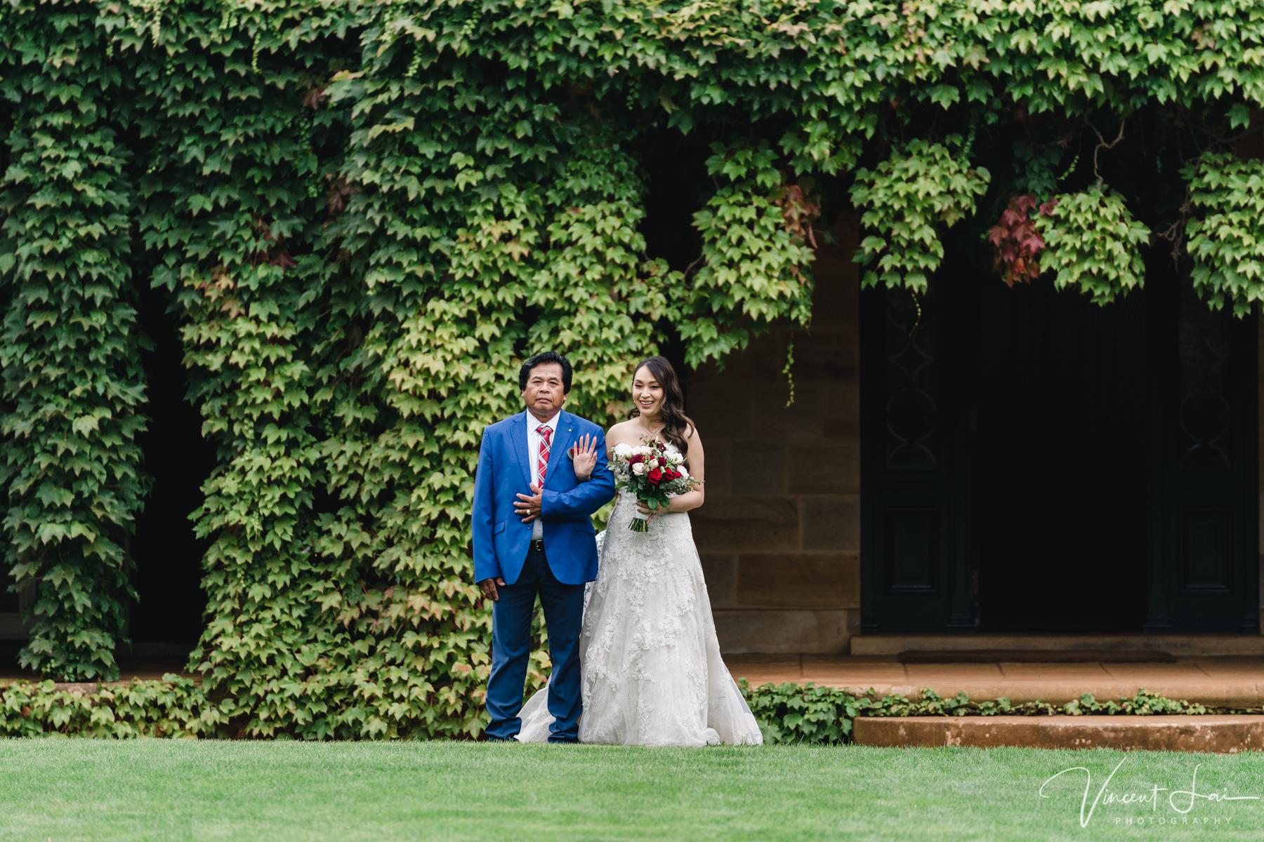 Bendooley Estate Wedding Homestead Lawn