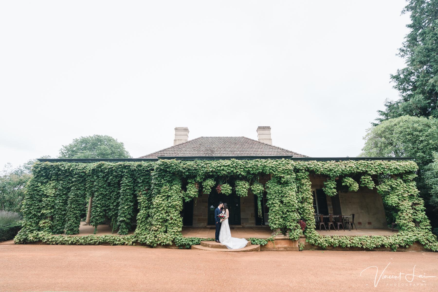 Real Wedding Bendooley Estate Vincent Lai Photographer