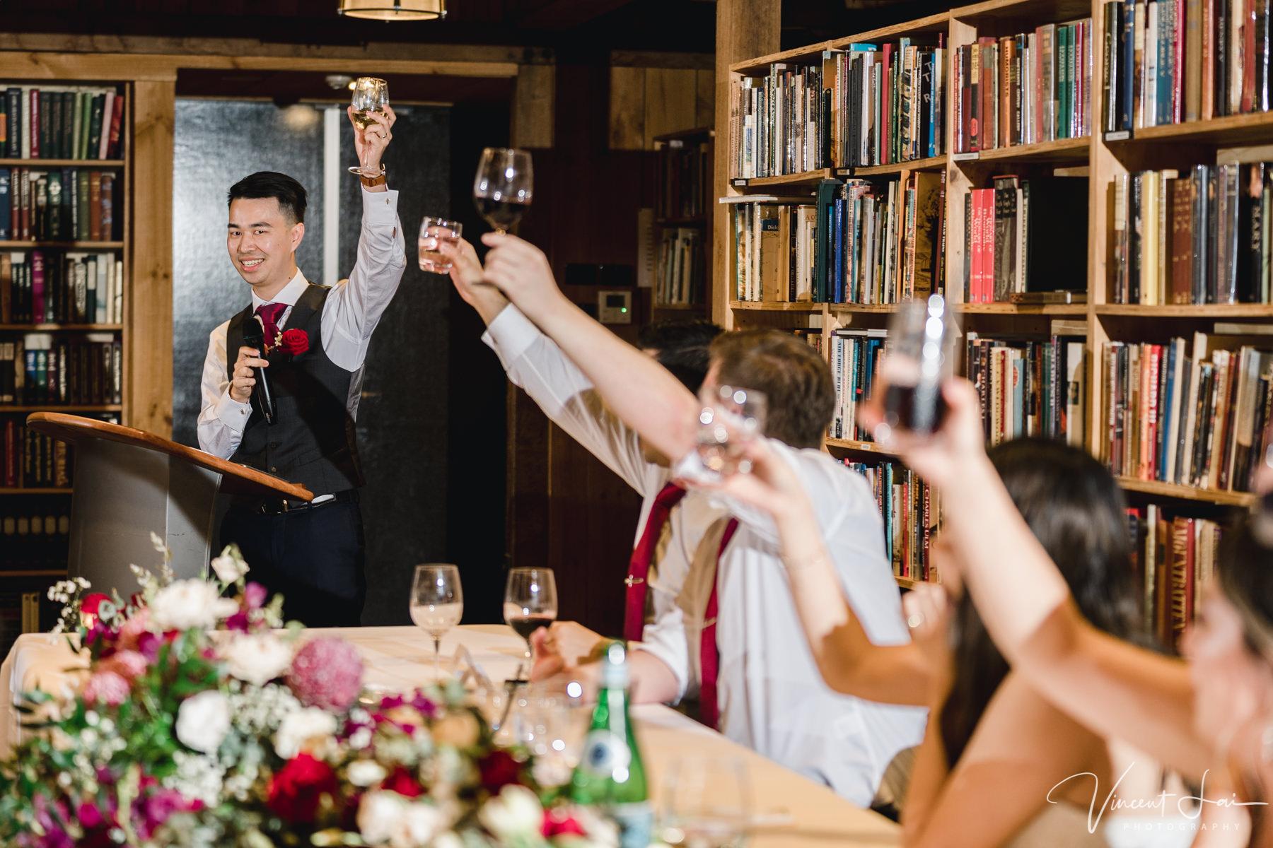 Book Barn Bendooley Estate Wedding Reception