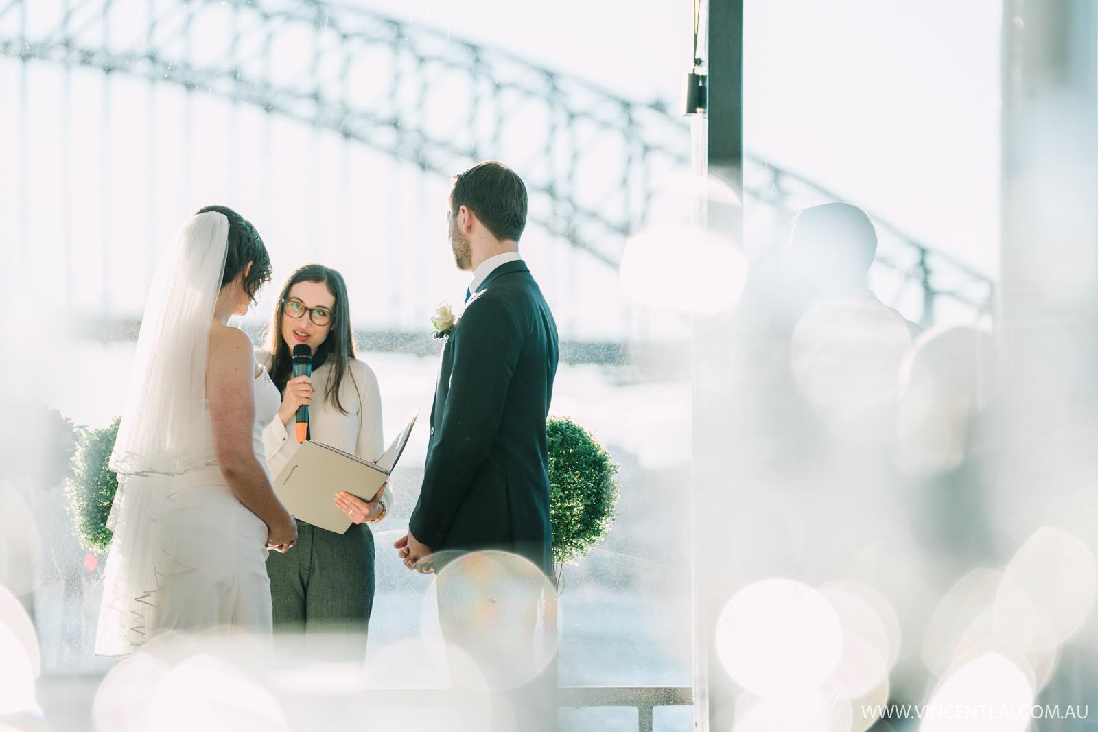 The Sydney Glass Island Wedding Vessel
