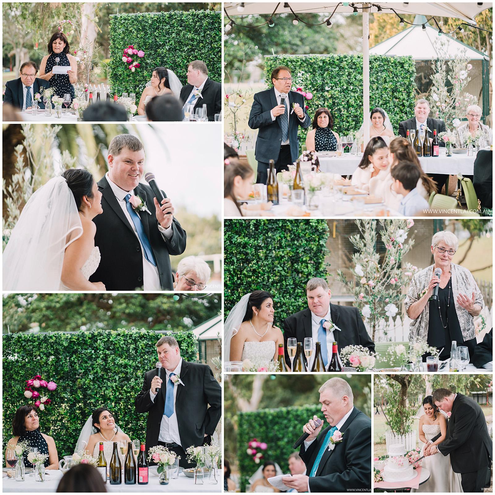 Wedding at The Greens North Sydney