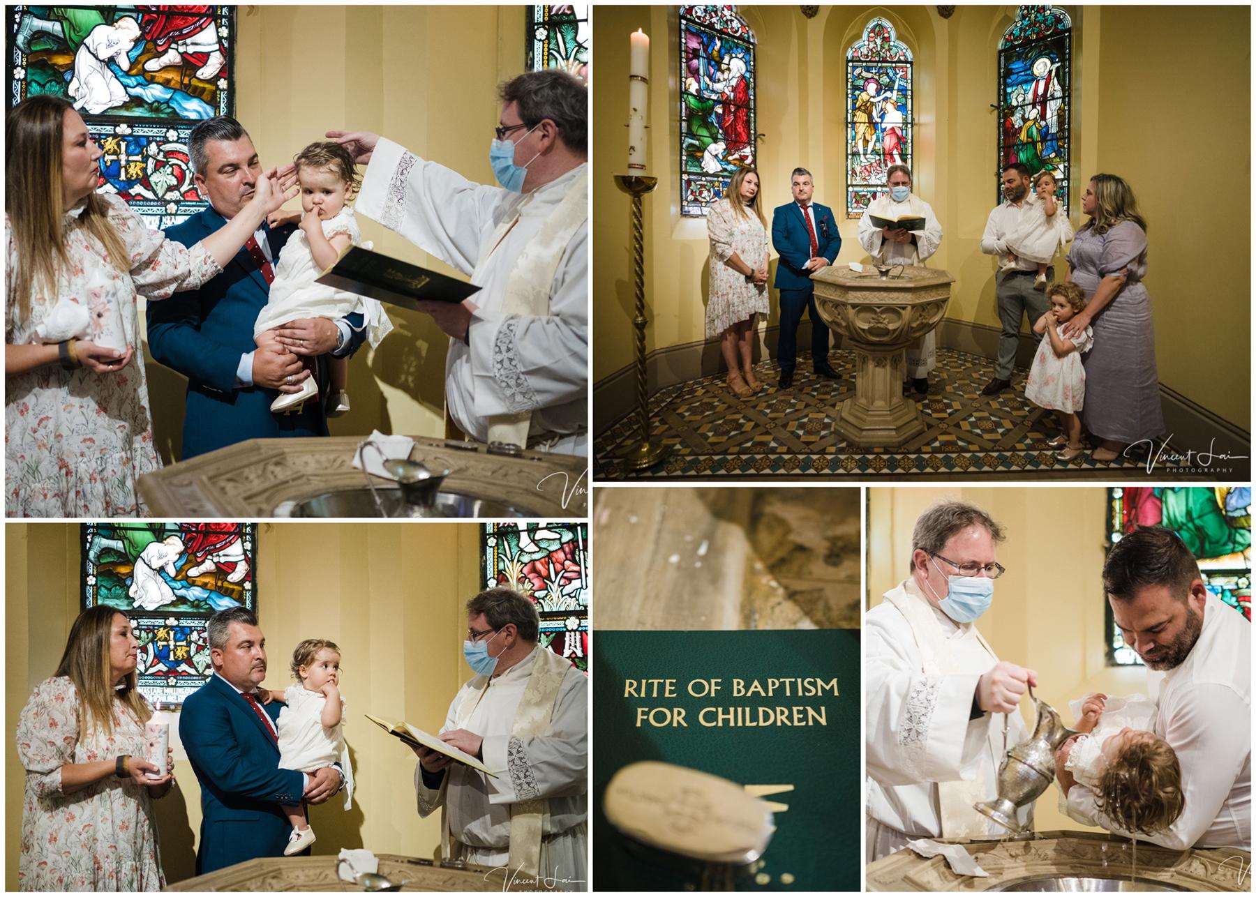 Baptism at St Thomas of Canterbury Church at Lewisham