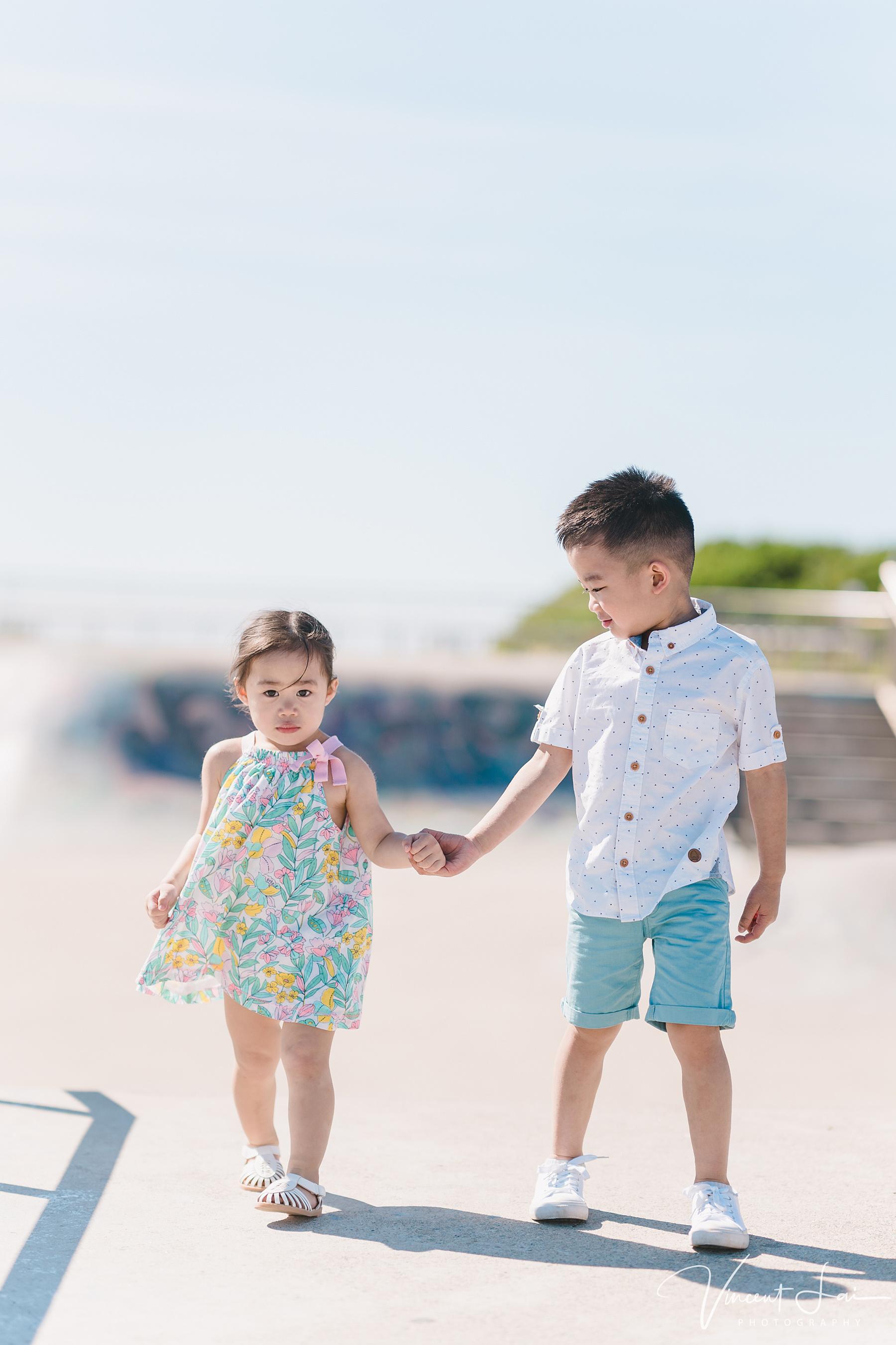 Family Photo Session at Maroubra Beach