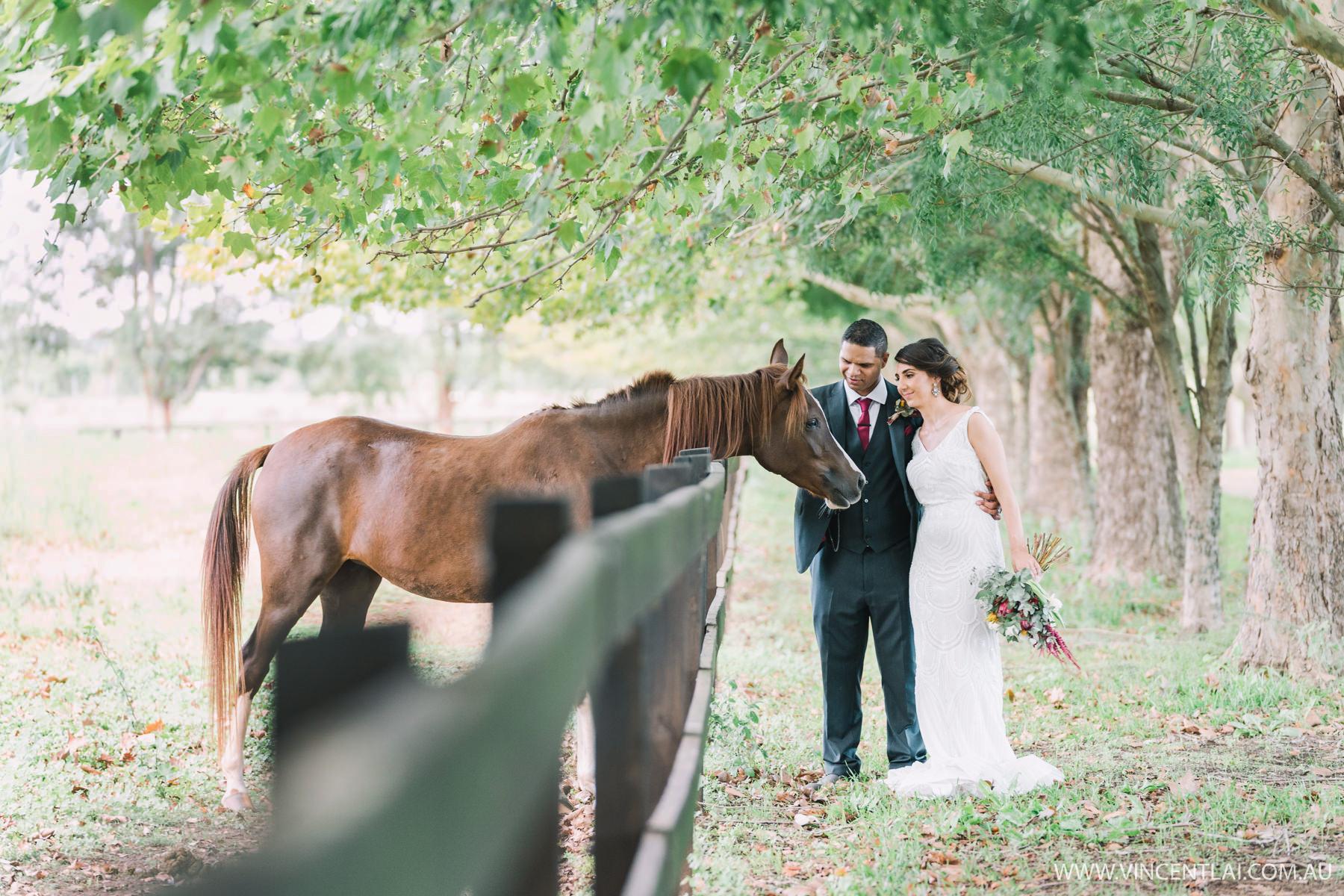 Hawkesbury Country Retreat Cornwallis Wedding