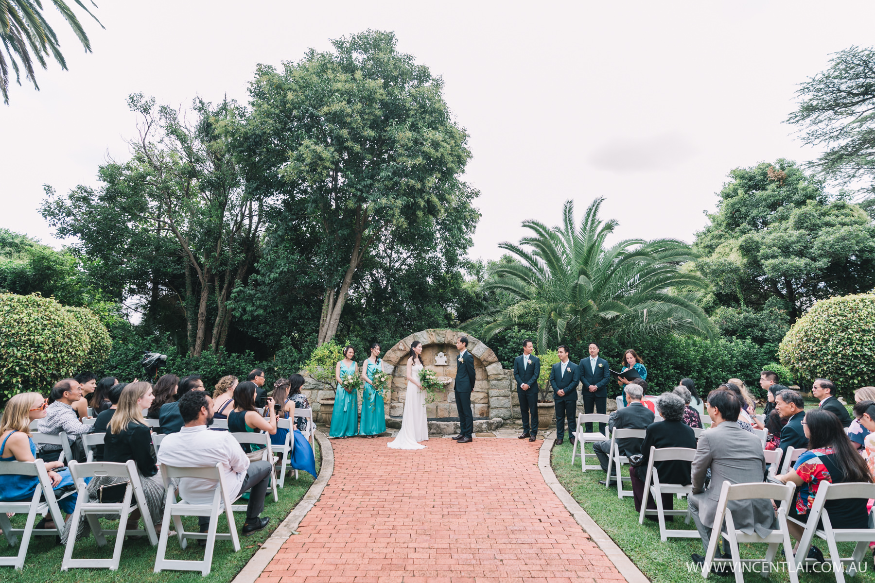 Enchanted Garden Wedding Ceremony at Oatlands House