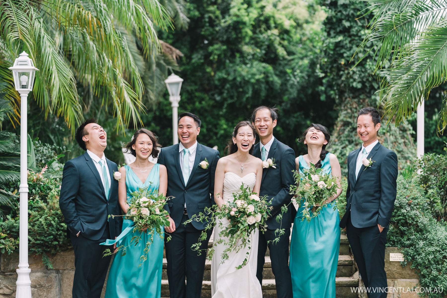 Garden Wedding Ceremony and Reception at Oatlands House