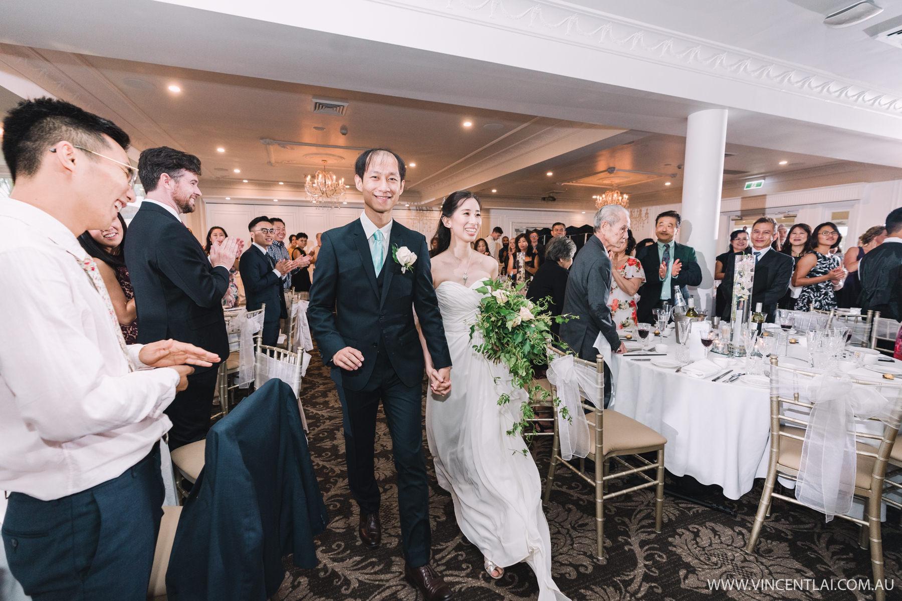 Wedding Reception at Oatlands House