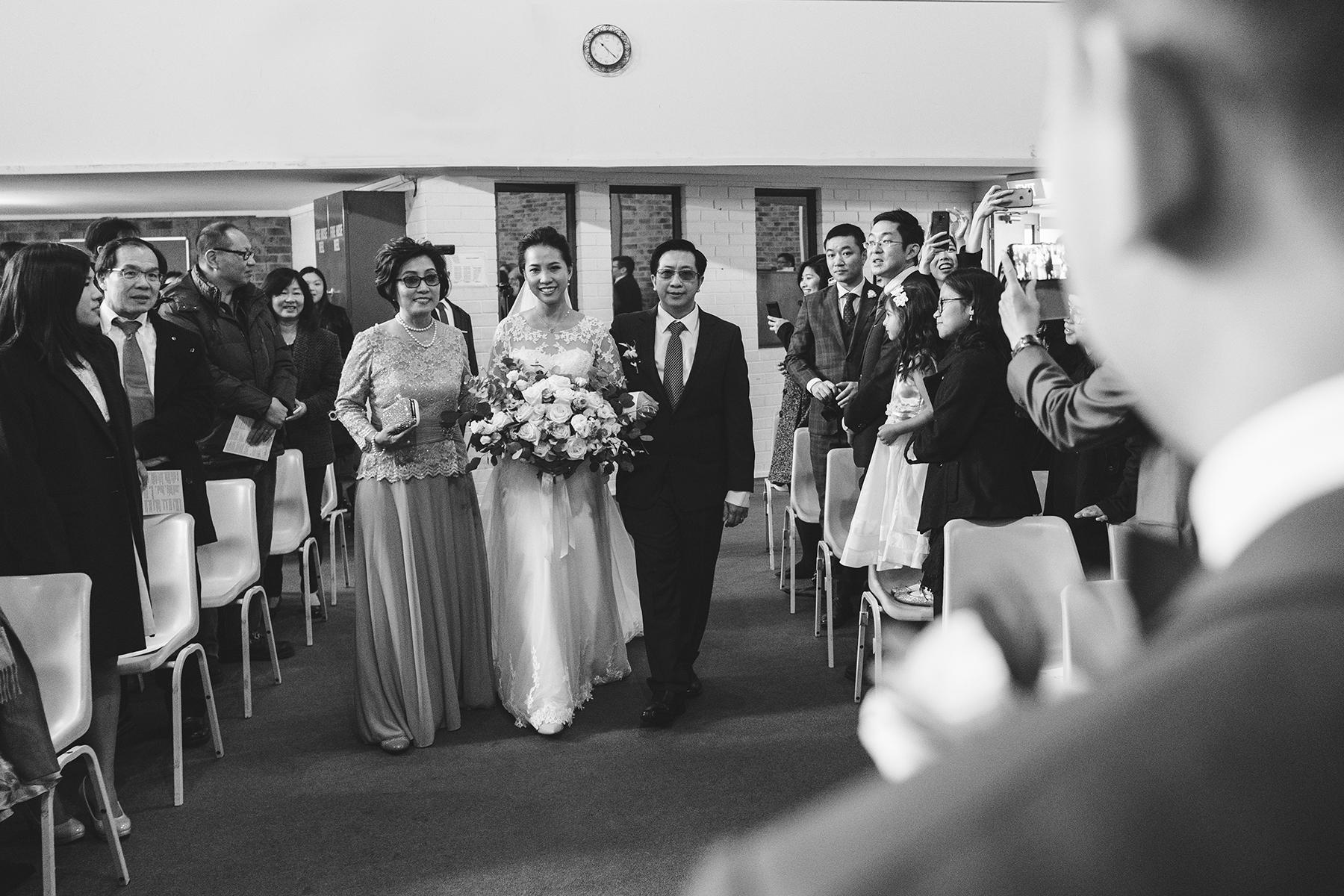 Campbelltown City Baptist Church Wedding