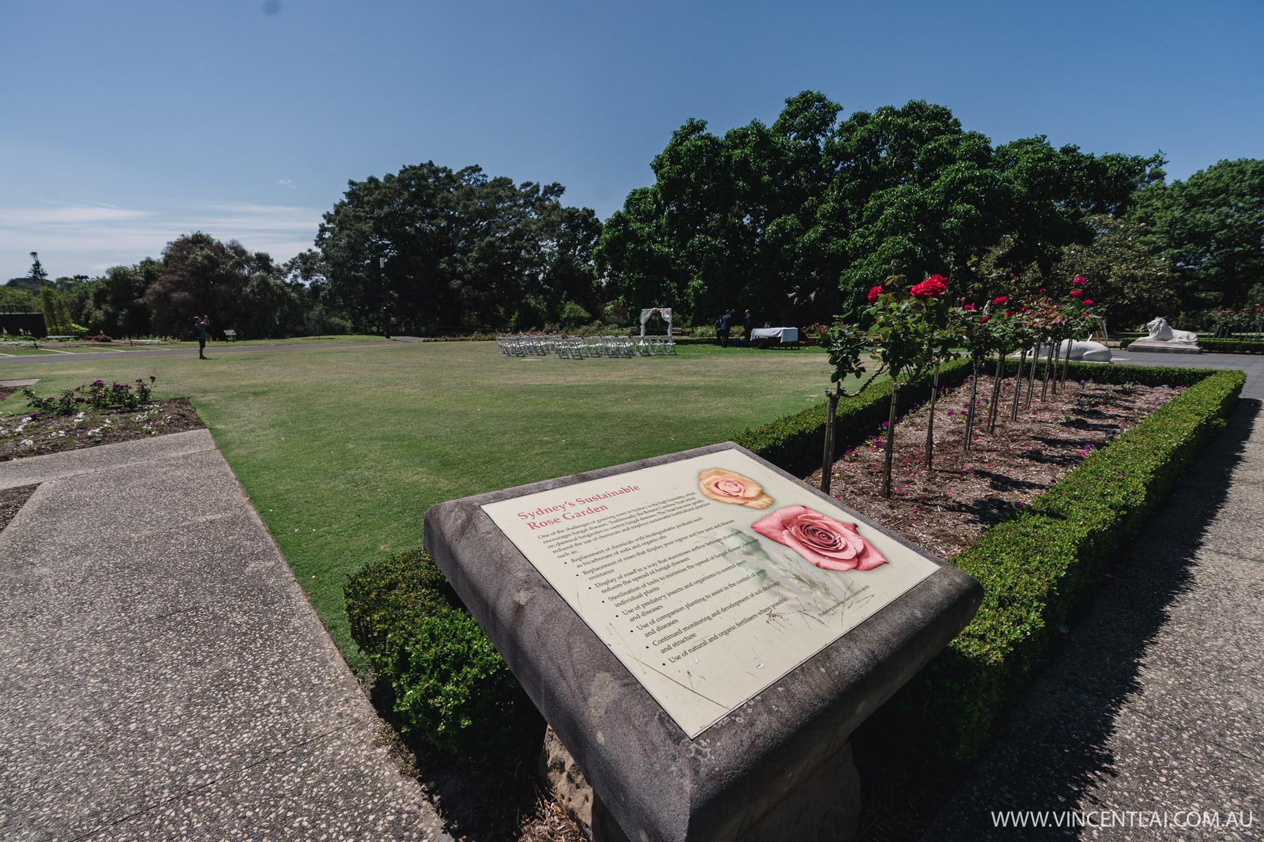 RoyalBotanicGarden'sRose Garden Pavilion and Lawn