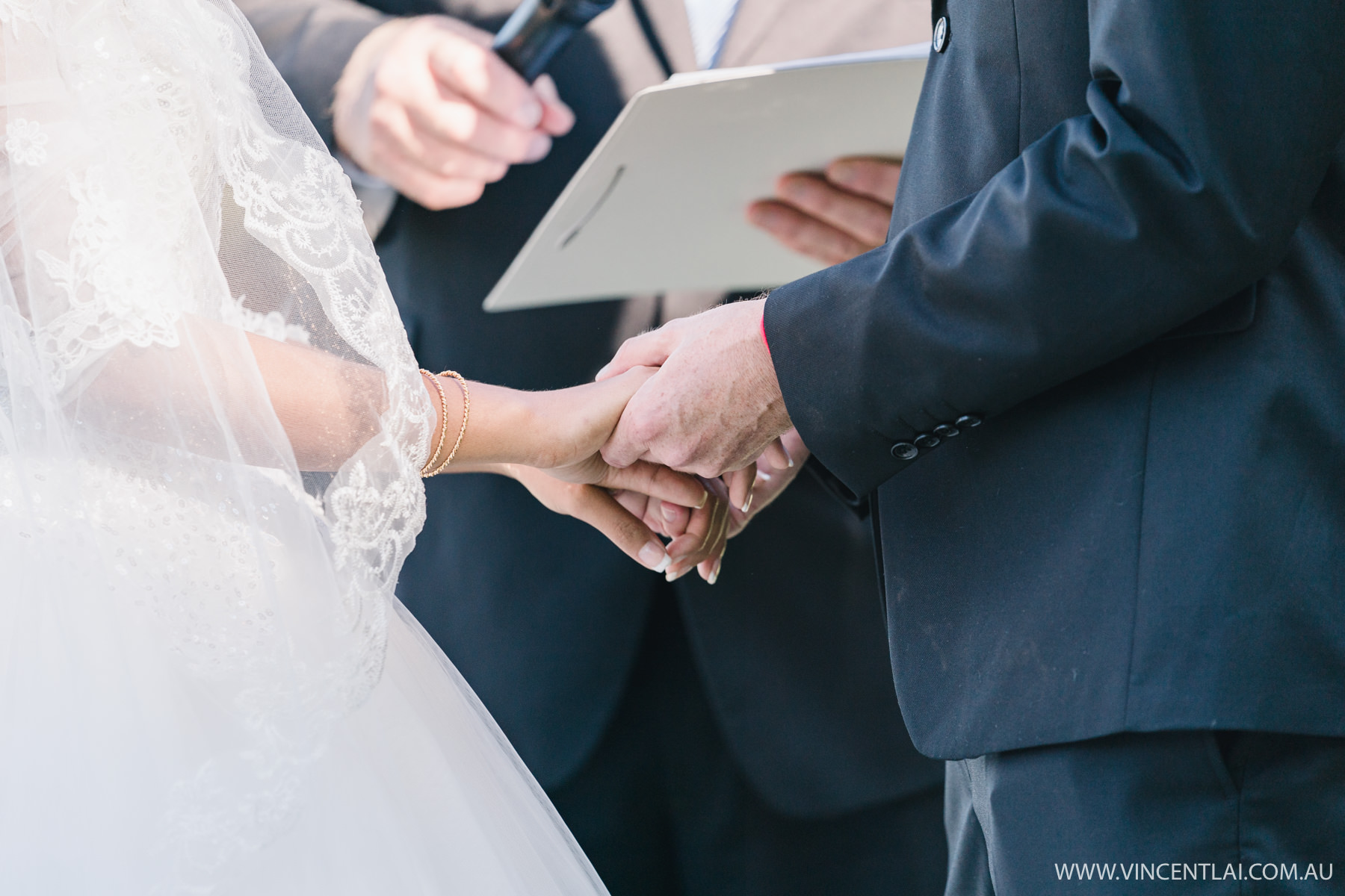 Intimate Tumbling Waters Retreat Wedding