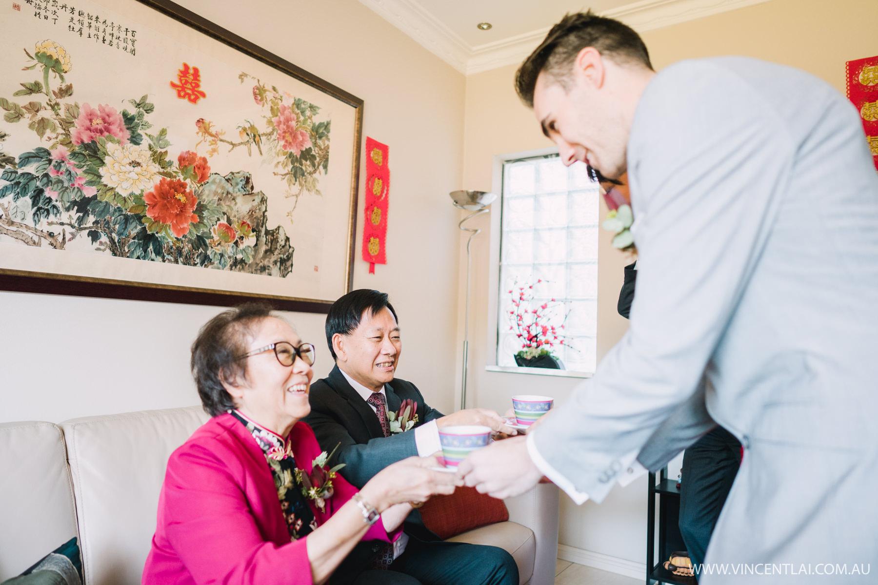 Sydney Chinese Wedding Tea Ceremony
