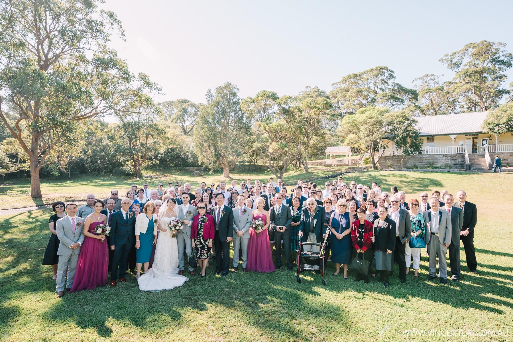 Wedding at Athol Hall