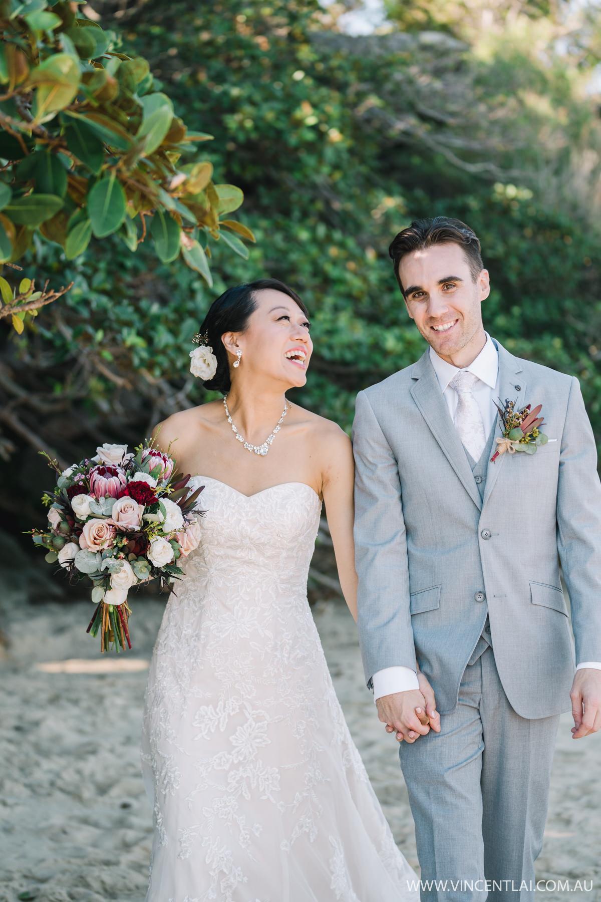 Bradleys Head Amphitheatre Wedding Photo