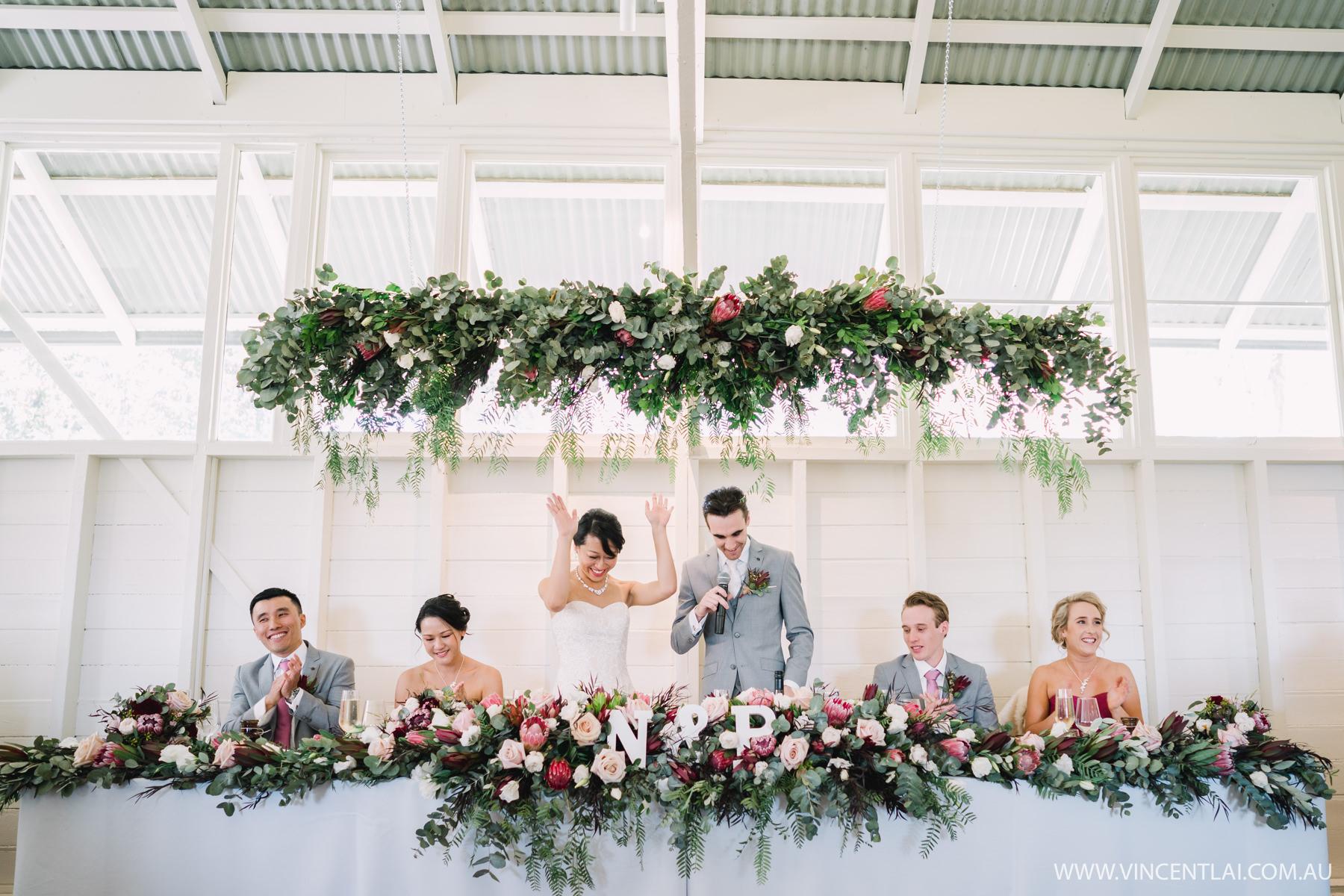 Athol Hall Wedding Reception Speeches