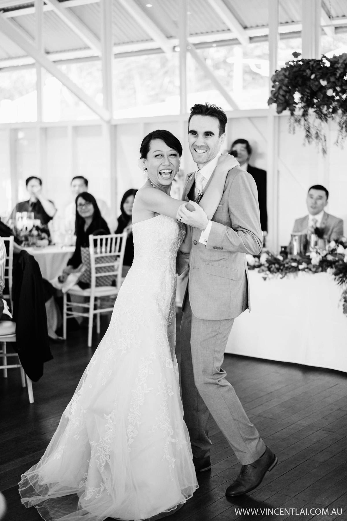 Wedding at Athol Hall First Dance