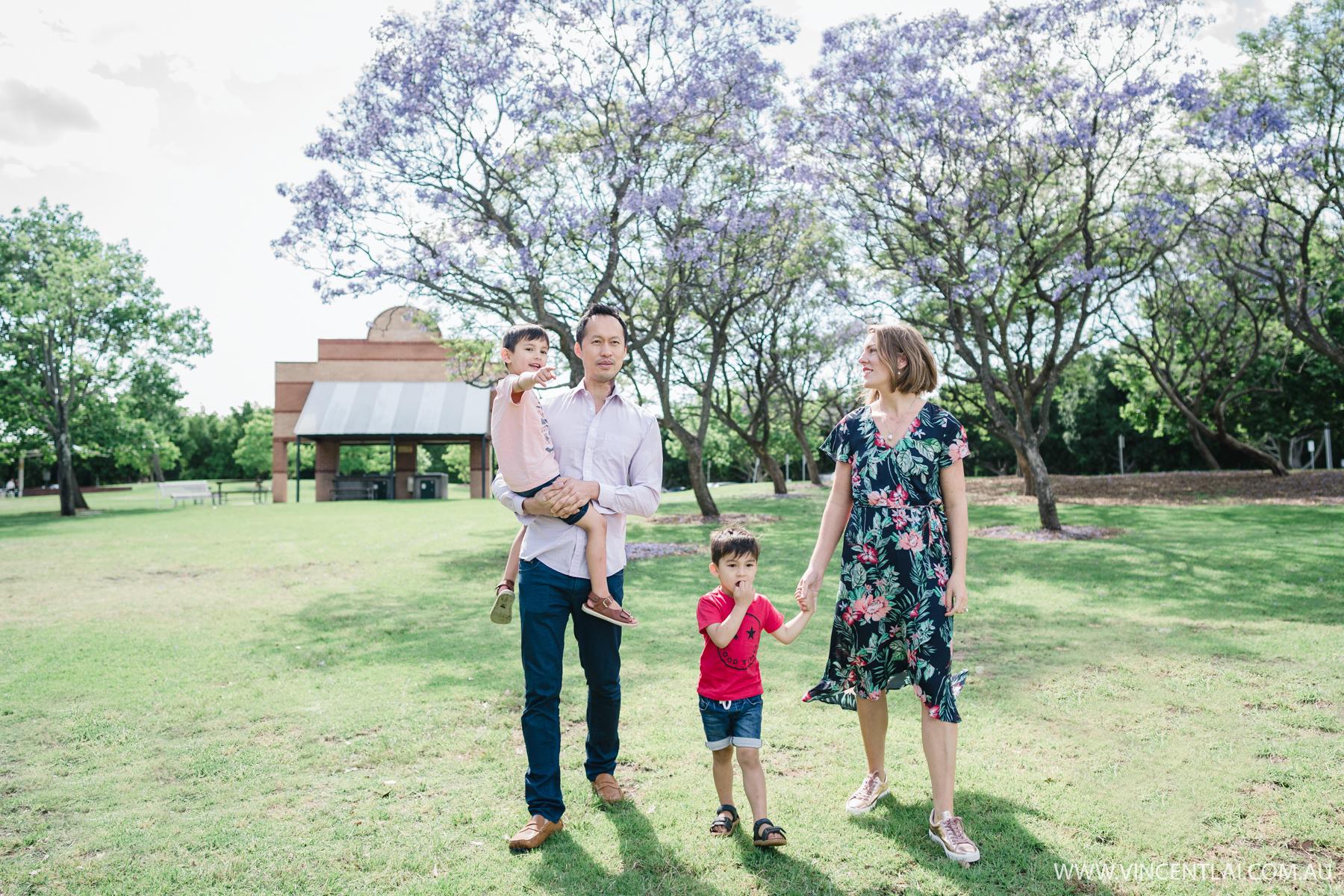 Bicentennial Park Sydney Olympic Park Family Photos