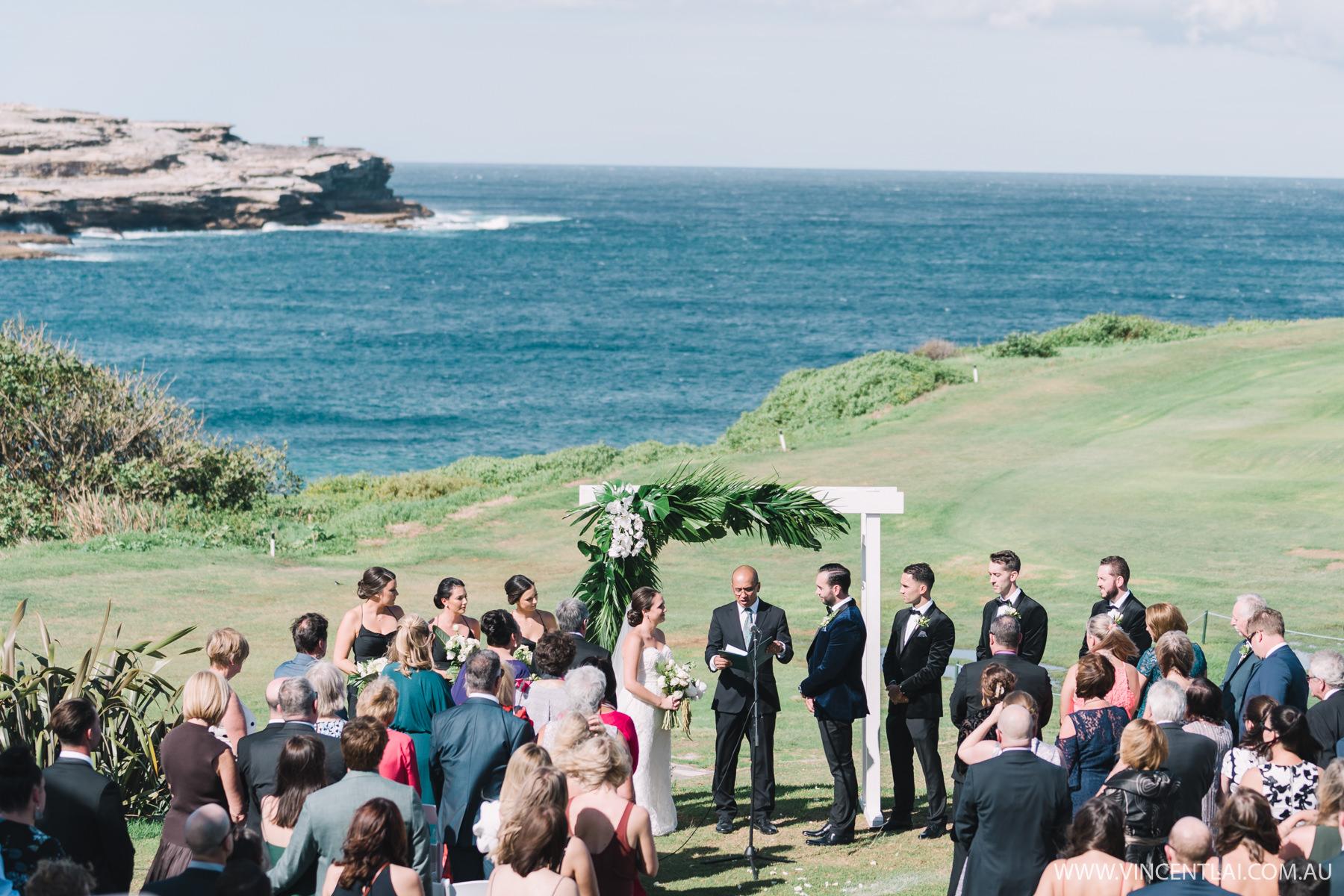 Randwick Golf Club Wedding Ceremony