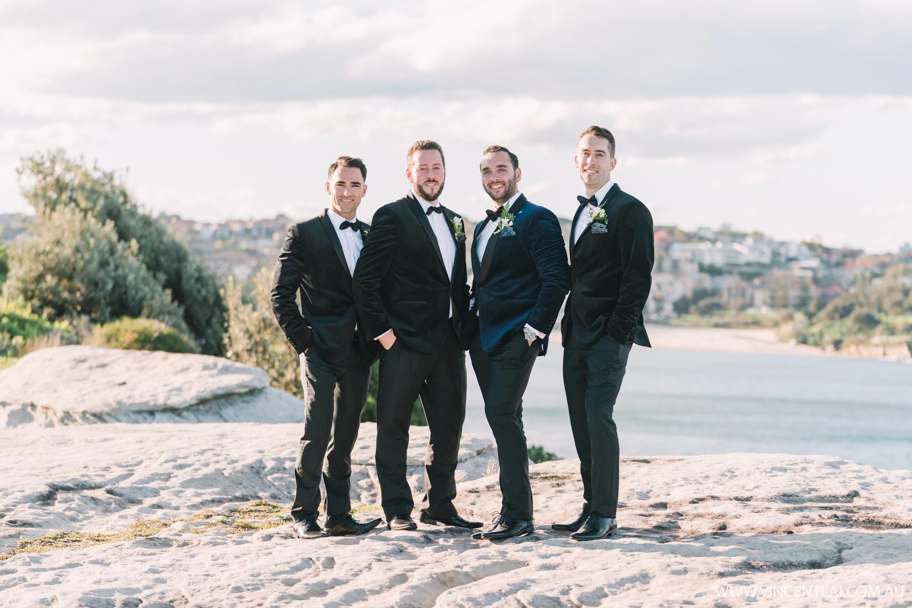 Wedding at Wylie's Baths Coogee Beach