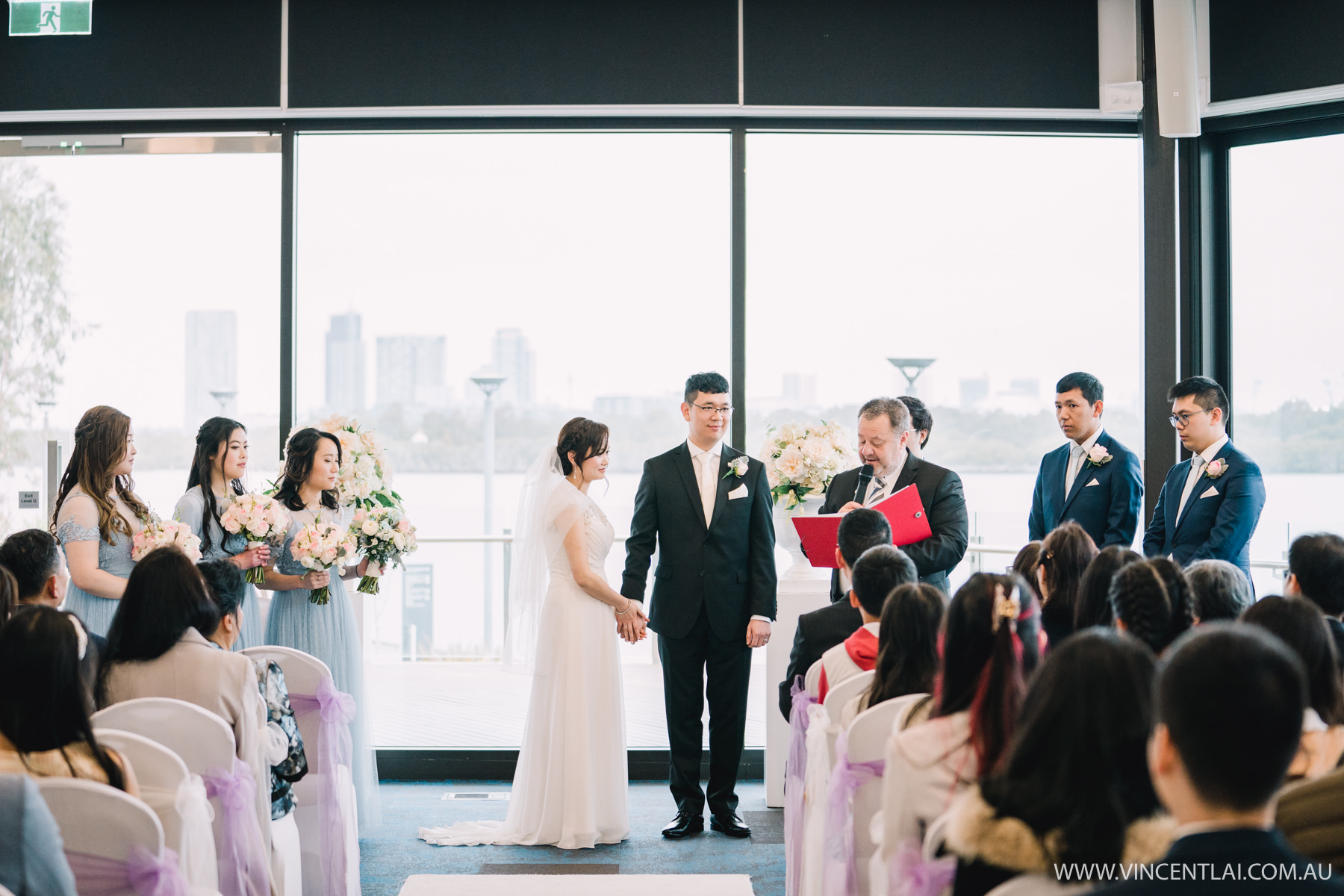 Wedding Ceremony at The Connection Rhodes