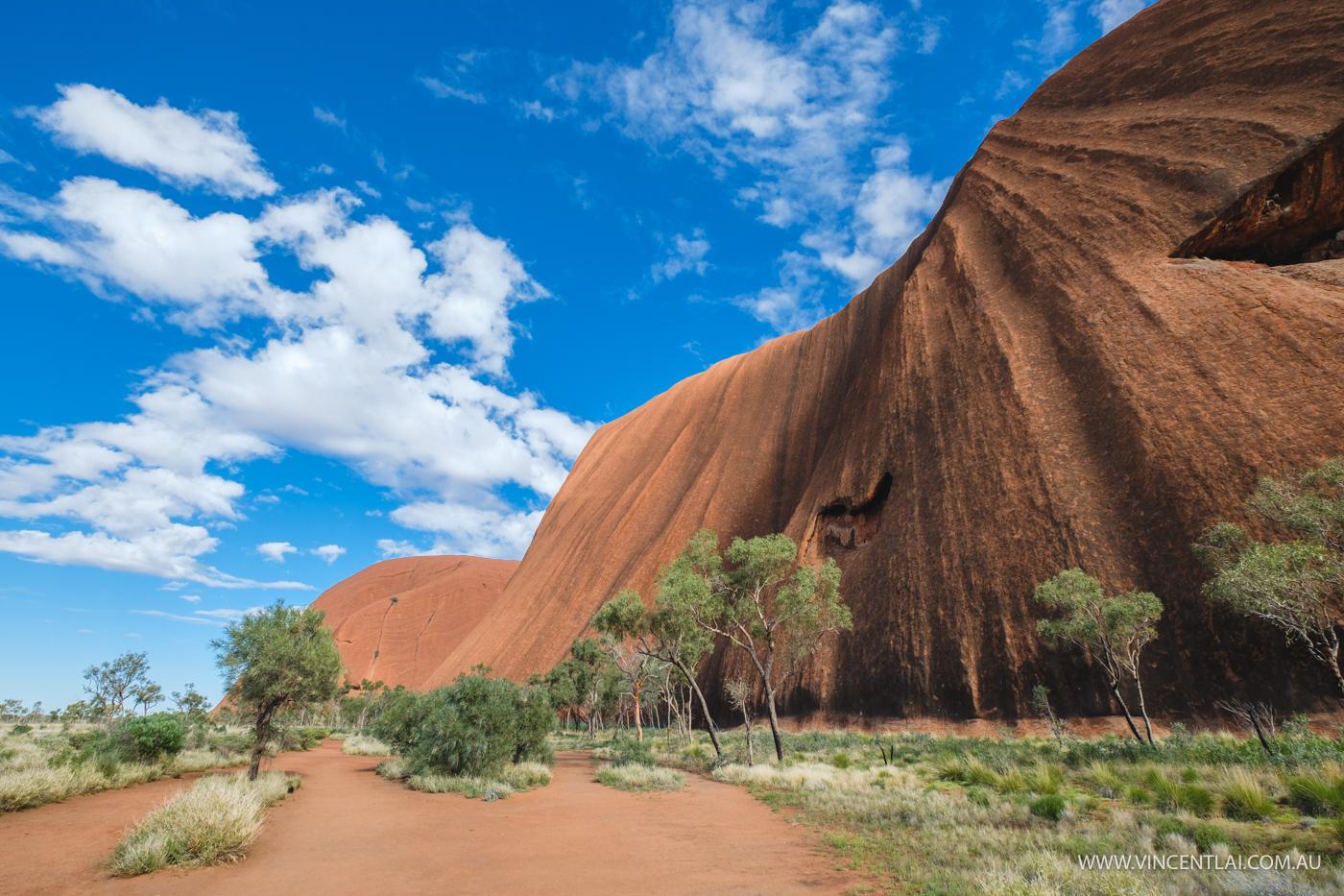 base walk around Uluru