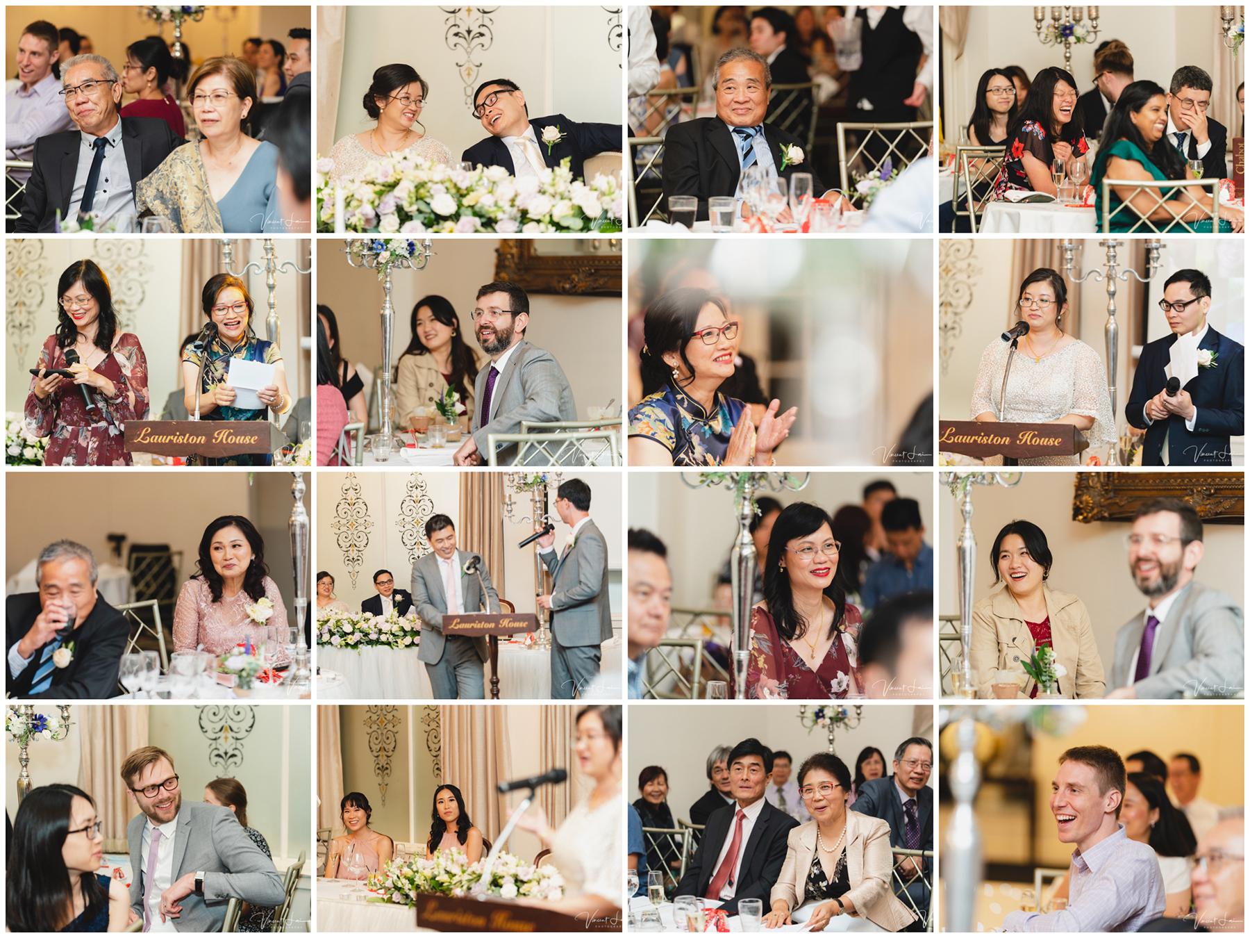 Lauriston House Wedding Reception