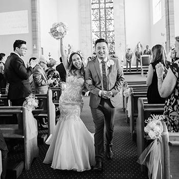 St Jerome's Catholic Church and Clarence House Wedding Reception