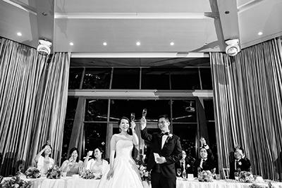 L'Aqua Wedding Reception