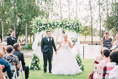 Crowne Plaza Hawkesbury Valley Boutique Hotel Wedding