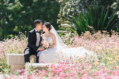 Wedding at Tarpeian Lawn Royal Botanic Garden Sydney and The Tea Room QVB Wedding Reception