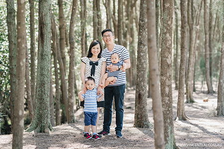 Spring Family Photo Session at Bicentennial Park