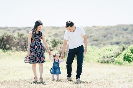 Family Photos at Bare IslandFort La Perouse