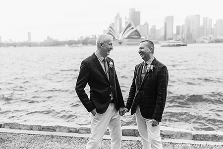Intimate Kirribilli Wedding Ceremony and Bennelong Restaurant Wedding Reception