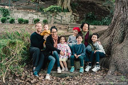 Family Photos at Watt Park North Sydney