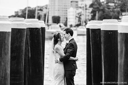 Clark Park Lavender Bay Wedding