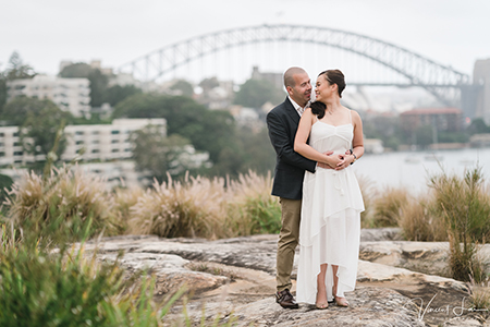 Sydney Prewedding Photos During a Storm