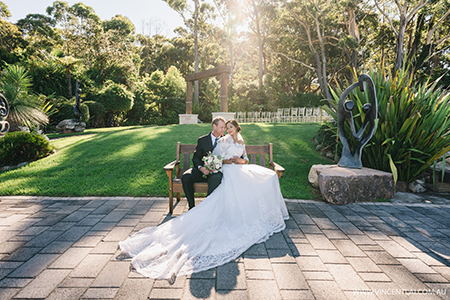 wedding at Tumbling Waters Retreat Stanwell Tops.