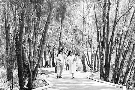 Lifestyle Family Portraits at Local Parkland