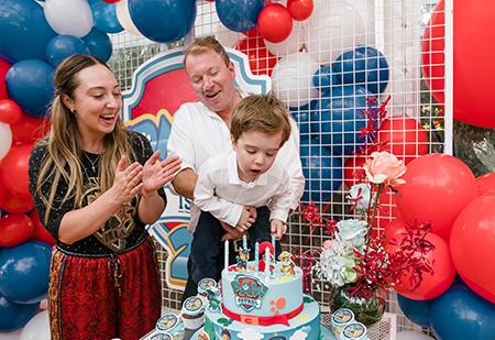 Edmund's 2nd Birthday Party